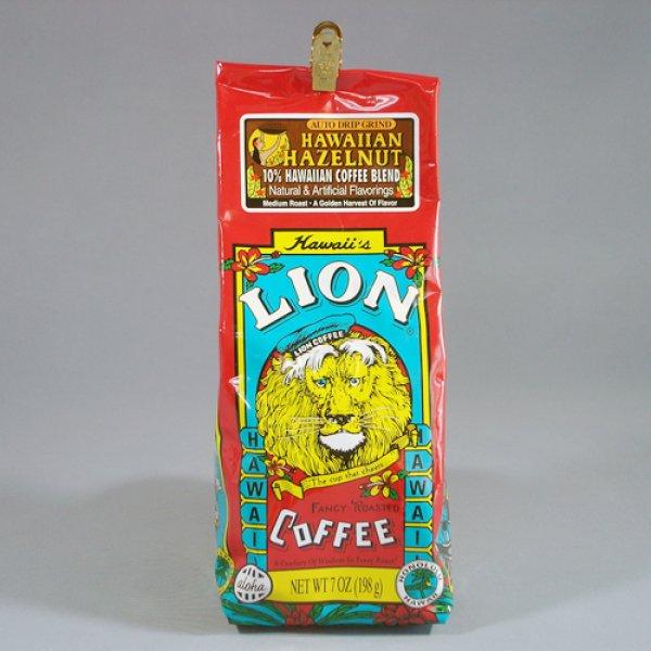 画像1: LION COFFEE HAWAIIAN HAZELNUT (粉) 198g (1)