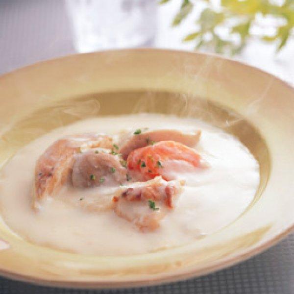画像1: 大きめ野菜と地養鶏の濃厚クリーム煮[約150g×4袋] (1)